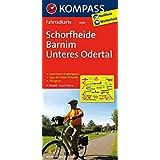 Schorfheide - Barnim - Unteres Odertal: Fahrradkarte. GPS-genau. 1:70000 (KOMPASS-Fahrradkarten Deutschland, Band 3030)