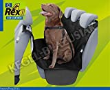 ECOLEATHER Car Rear Back Seat Cover Pet Dog Cat Protector Hammock Mat Liner REX2