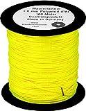1mm Maurerschnur 100m neongelb Pflasterschnur Richtschnur Lot Verlegeschnur gelb PA Polyamid