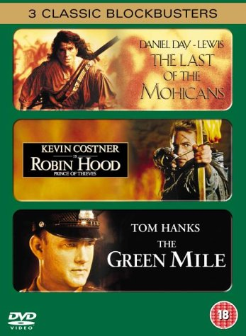 Bild von Green Mile, The / Robin Hood / Last Of The Mohicans [UK IMPORT]