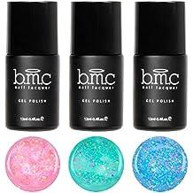 BMC Súper Dulce 3 piezas Serendipity UV/LED Mate Purpurina Pastel Yogur Esmalte De Uñas De Gel Completo Master Set