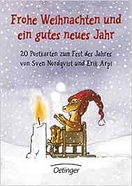 frohe weihnachten und ein gutes neues jahr 20 postkarten zum fest des jahres erik