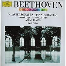 """Klaviersonaten No. 8 (""""Pathétique"""") - 21 (""""Waldstein"""") - 23 (""""Appassionata"""")"""