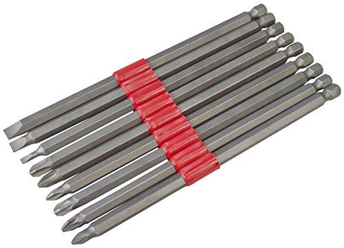 Am-Tech 9 piezas conjunto de bits de potencia 150 mm, L3000