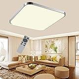 ADEMAY LED Modern Markantes Design Deckenleuchte Deckenlampe Flur Wohnzimmer Lampe Schlafzimmer Küche Panel Leuchte Energie Sparen Licht 85V-265V 50HZ,36W Dimmbar