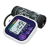 Mpow Tensiomètre Bras Électronique Automatique avec Brassard Ajustable, et Grand Écran LCD, Détection de la tension artérielle et de la Fréquence Cardiaque, Certificat CE/FDA, 4 Piles AAA Inclues