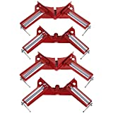 4pcs/set 90 Degree Right Angle Clamp Mitre Clamps Corner Clamp Picture Holder Woodwork For Woodworking tool