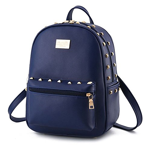 koson-man-madchen-damen-nieten-rucksack-daily-schultern-bag-dunkelblau-blau-kmukhb193