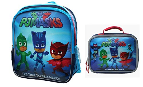 disney-junior-pj-mask-3d-its-time-to-be-a-hero-14-inch-backpack-lunch-bag-by-disney
