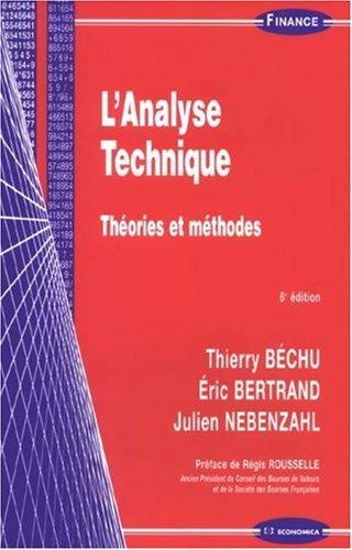 L'analyse technique : Théories et méthodes