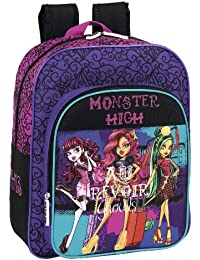 Monster High - Mochila Junior Adaptable, 32 x 38 x 12 cm (Safta 611344640