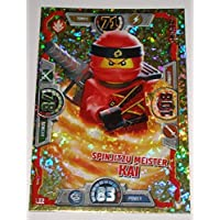 LEGO Ninjago Trading Cards Series 3: Spinjitzu Champion Kai LE2 Limited Edition - GERMAN