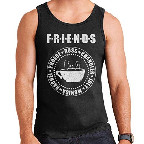 Friends Central Perk Coffee Men's Vest Black