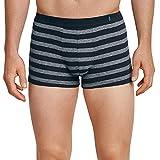 Schiesser Herren Boxershorts  95/5 Shorts, 2er Pack, Mehrfarbig (Nachtblau-Grau 901), XL (Herstellergröße: 7)