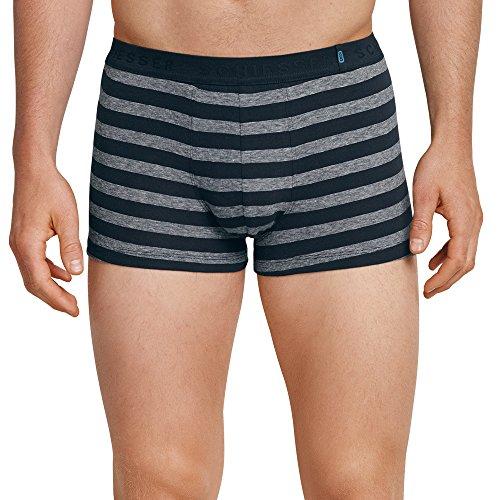 ershorts  95/5 Shorts, 2er Pack, Mehrfarbig (Nachtblau-Grau 901), M (Herstellergröße: 5) ()
