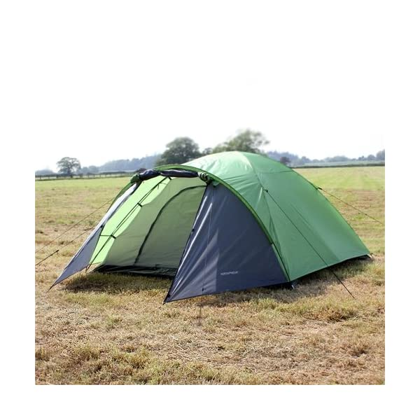 North Gear Camping Mars Waterproof 4 Man Dome Tent 1