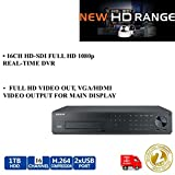Samsung srd-1680d 8/16CH HD-SDI-Hybrid DVR Full HD 1TB 1080P Echtzeit Recorder