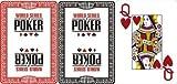 WSOP Cartes en plastique Jumbo Index, Couleur: Noir