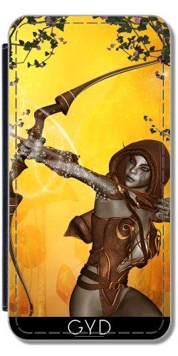 Leder Flip Case Tasche Hülle für Iphone X - Das Prinzip by nicky2342 (Billig Bogen Und Pfeile Case)