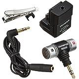 Olympus SEMA-1 Microphone Adapter Set - Accesorio para cámara (Negro)