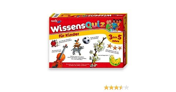 Noris Spiele 606016250 - Wissensquiz für Kinder von 3 - 5 Jahren ...