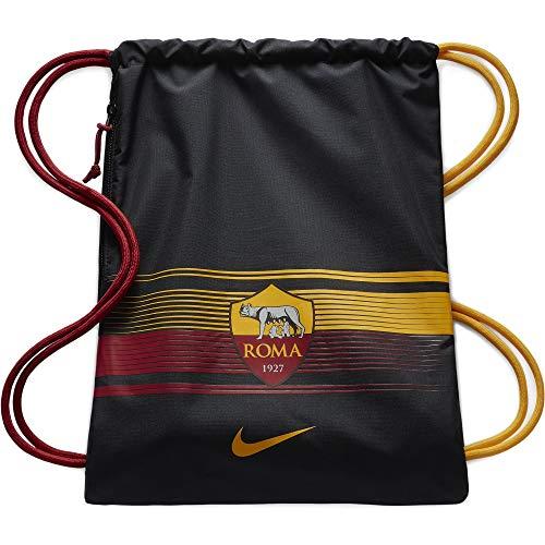Nike NK Stadium Roma GMSK, Bolsa de Tela y de Playa Unisex Adultos, Multicolor (Black/Team Crimson/U), 8x15x20 cm (W x H x L)
