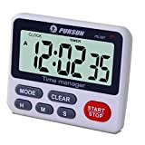 Digital Kitchen Cooking Timer Clock - XREXS Simultaneous Timing Countdown Up Pocket Timer