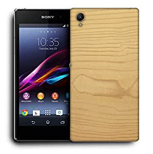 Snoogg Textura De Madera Designer Protective Phone Back Case Cover For Sony Xperia Z4