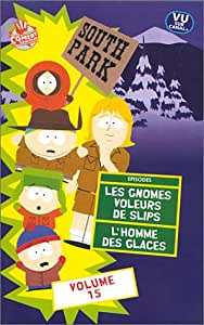 South Park - Saison 2 (Vol.15) - VF : Les Gnomes voleurs de slips / L'Homme des glaces [VHS] [Import anglais] [Import anglais]