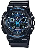 Casio G-Shock Herren Analog/Digital Quarz mit Resin Armbanduhr GA100CB1AER