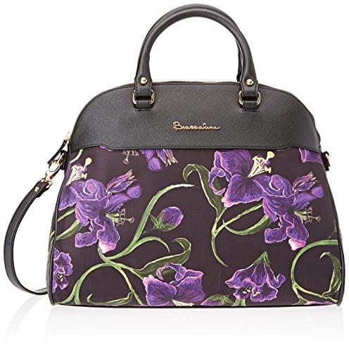 Braccialini Damen B11822 Shopper, 19x27.5x36.5 Cm Violett (viola)