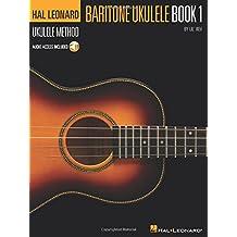 Hal Leonard Ukulele Method Baritone Ukulele Book 1 Lil' Rev Uke BK/CD (Baritone Ukulele Method)