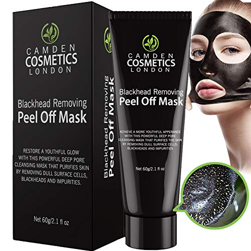 Máscara Quita espinillas Camden Cosmetics - Carbón