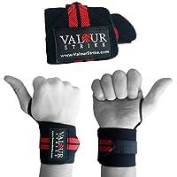 Premium-Handgelenksunterstützung mit sicheren, verstellbaren Klettverschlüssen zum Gewichtheben, Gym-Straps, perfekt... preisvergleich bei billige-tabletten.eu