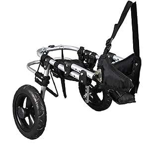 fauteuil roulant d ambulateur fauteuil roulant chien gehilfe chariot chariot pour chien amazon. Black Bedroom Furniture Sets. Home Design Ideas