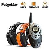 3CTECH 1000M Pet Dog Training Collier pour Chien Collier de Formation Dog Trainer Rechargeable étanche avec Beep Vibration et à Distance de Choc électrique