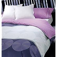 Funda nórdica cama 90 cm.+ Funda para almohada. Estampado circulos. Diseño y colores en tendencia, moderno y actual. LOVETEXTIL