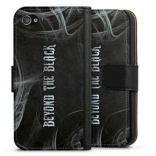 Apple iPhone 5s Silikon Hülle Case Schutzhülle beyond the black fanartikel merchandise Sideflip Tasche schwarz