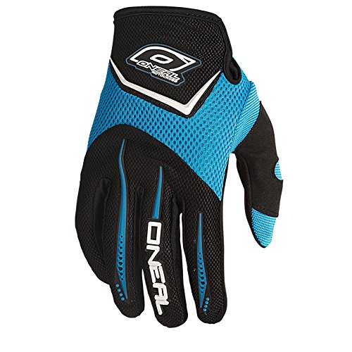 O'Neal Element Kinder Handschuhe Hell Blau MX DH Moto Cross DH Mountain Bike Downhill Motorrad, 0399K-8, Größe Large (Bike Blau Kinder)
