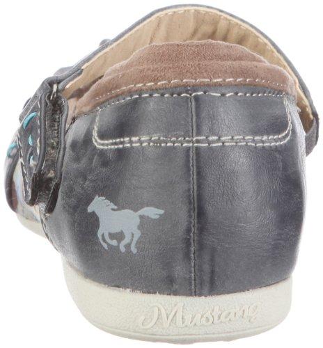 Mustang 5009202, Ballerines fille Bleu (824 Arktik)