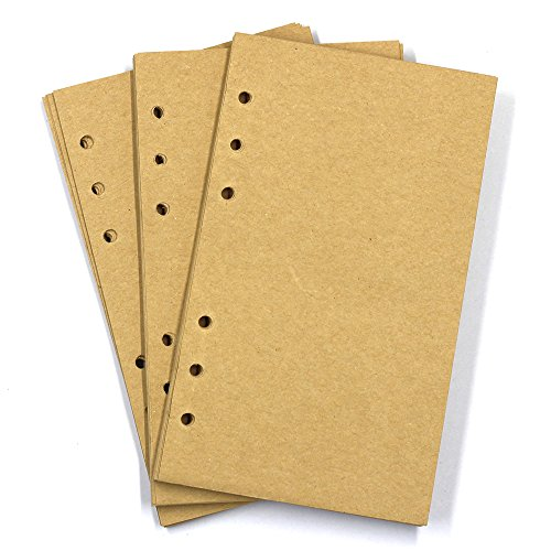 MMBox A6Vintage nachfüllbar, Premium Leder Traveler Notebook Skizzenbücher Classic Diary Planer...