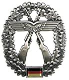 Bundeswehr Barettabzeichen BW Mützen Abzeichen Metallabzeichen Militärabzeichen verschiedene Truppengattungen (Luftwaffen-Sicherungstruppe)