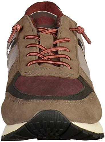 Bugatti 422285023434, Chaussures d'athlétisme femme Grau (Grey / Bordo)