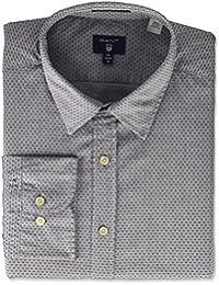 GANT Men's Broadcloth Dobby Shirt