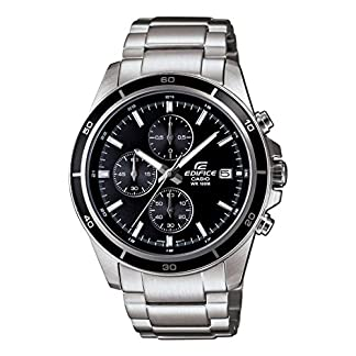 Casio Edifice Chronograph Black Dial Men's Watch – EFR-526D-1AVUDF (EX093)