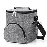 Srotek 11L Kühltasche Thermotasche Tragetasche mit Schultergurt, Wasserdichte Lunchtasche für Lunchbox, Isoliertasche für Ausflug/Picknick/Camping/Angeln/Wandern