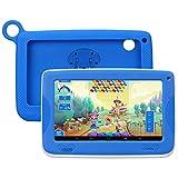 Enfant TabletteTactile Kivors 7 pounce tablette PC 8G ROM Android 4.4 Quad Core 1.0GHz Tablet pour les enfants (Bleu)