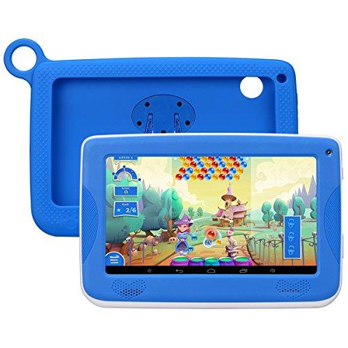 Kinder tablettetactile kivors 7Pounce Tablet PC 8G ROM Android 4.4Quad Core 1.0GHz Tablet für Kinder blau blau