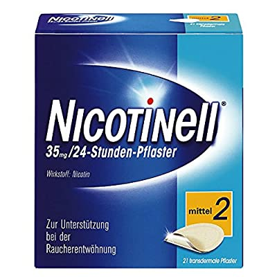 Nicotinell 110071 35 mg 24-Hour Transdermal Nicotine Patches (Pack of 21) from NOVARTIS Consumer Heal