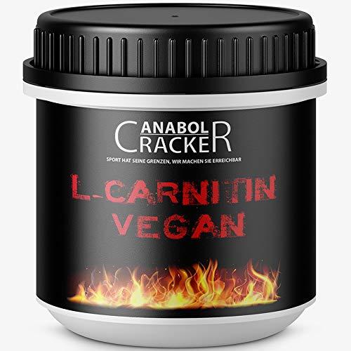 380 Kapseln L-Carnitin Vegan, hochdosiert 2000mg Tagesdosierung, für Veganer geeignet, ohne Zusätze, deutsche Qualität / Herstellung - Bcaa 500 Mg 120 Kapseln